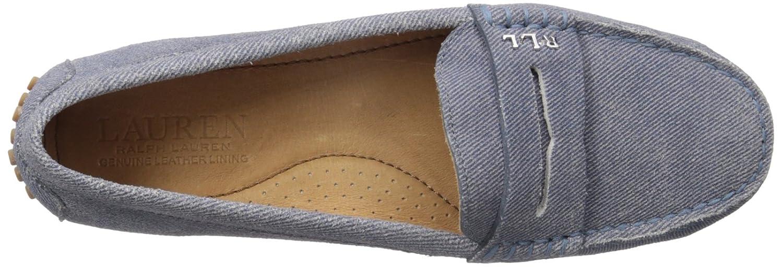 Lauren by B01LWW2M6W Ralph Lauren Women's Belen Driving Style Loafer B01LWW2M6W by 5 B(M) US|Blue 23a4ba