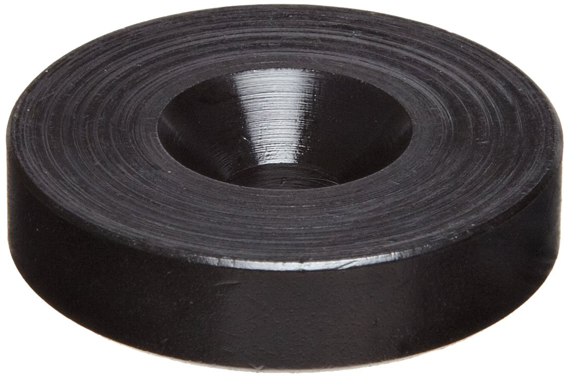 #10 Hole Size Meets NEMA 250 Type 6P Pack of 5 2 OD Corrosion Resistant//Vibration Damping 0.250 Nominal Thickness Black Oxide Finish Steel Flat Washer 0.563 ID Made in US