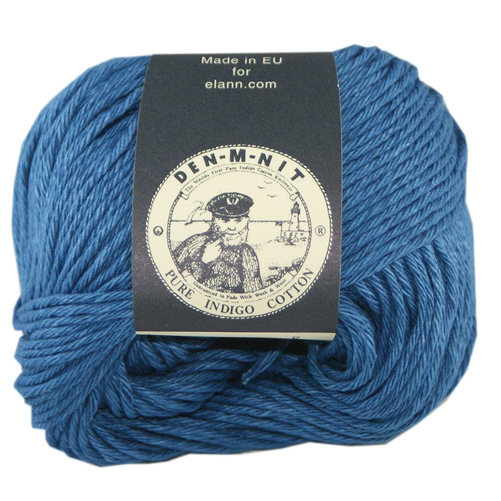 elann Den-M-Nit Yarn | 10 Ball Bag | Light Indigo