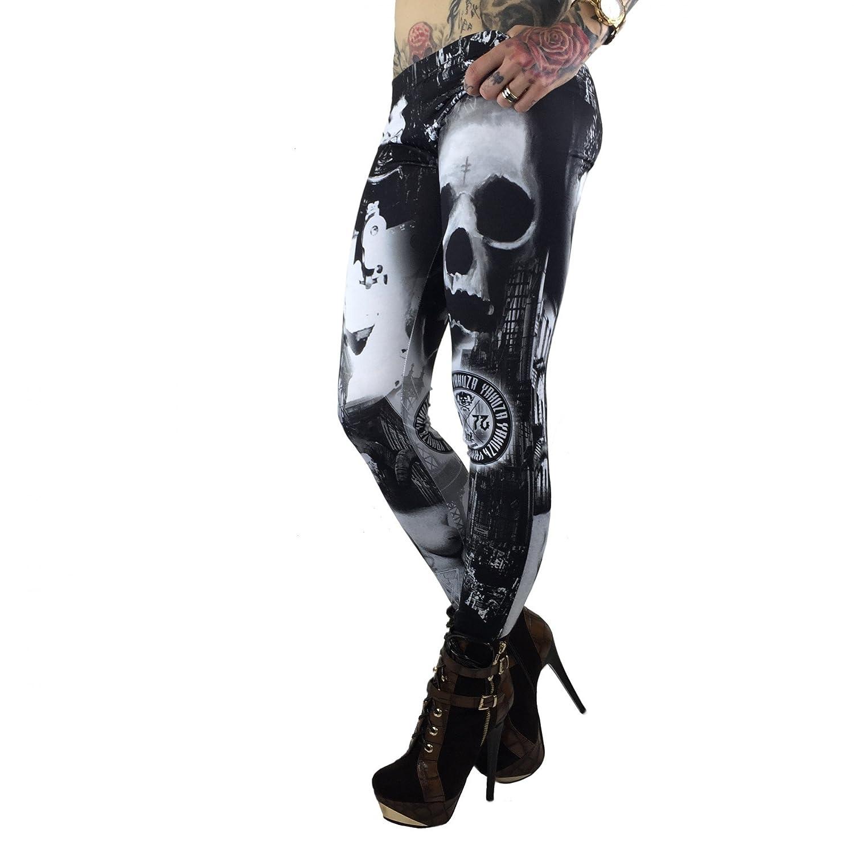Yakuza Women Pants / Legging/Tregging Lost City
