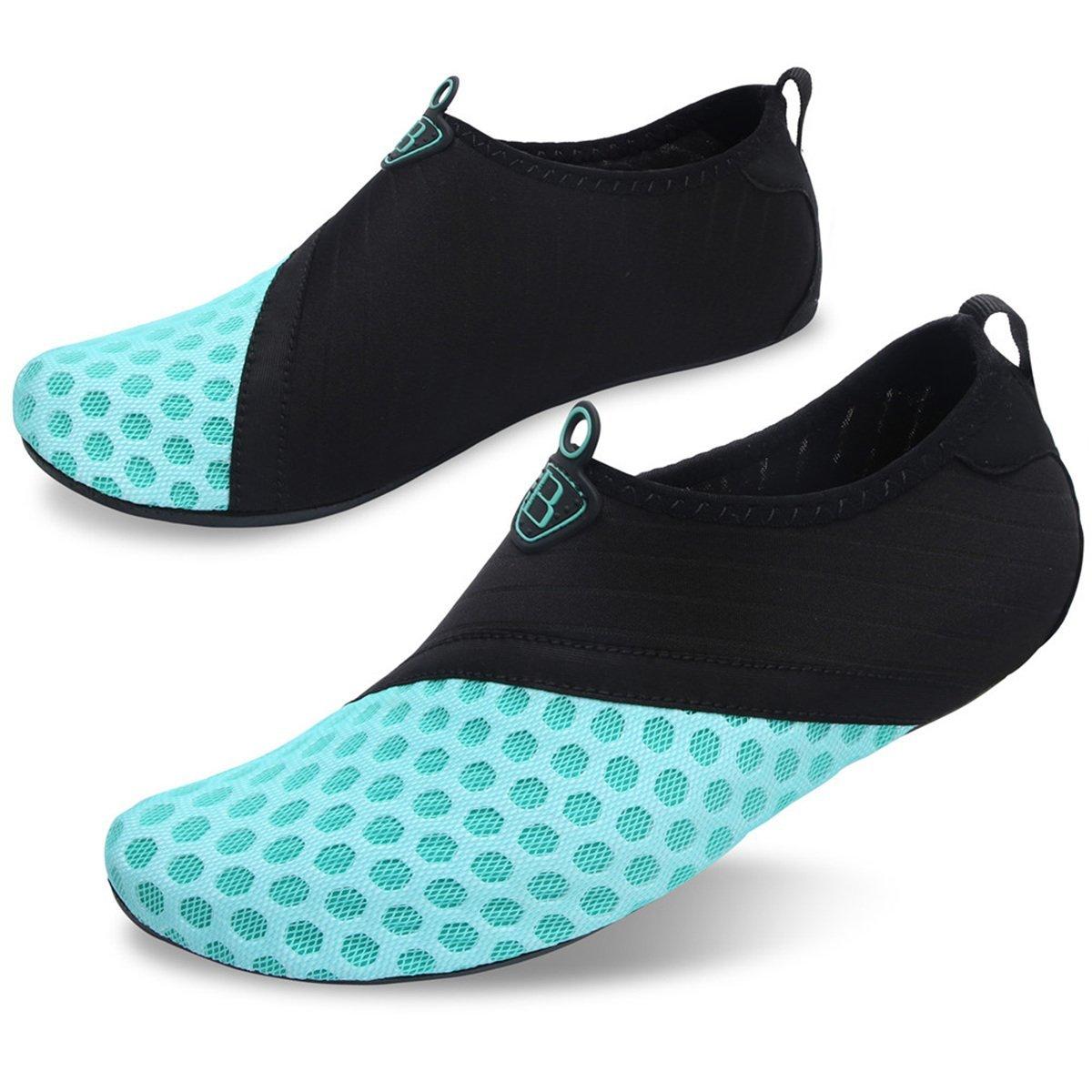 Barerun Barefoot Quick-Dry Water Sports Shoes Aqua Socks for Swim Beach Pool Surf Yoga for Women Men 8.5-9.5 US Women by Barerun (Image #6)
