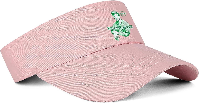 Irish You were Naked St Patricks Day Summer Visors Hats for Men Women Cool Soft Beach Cap