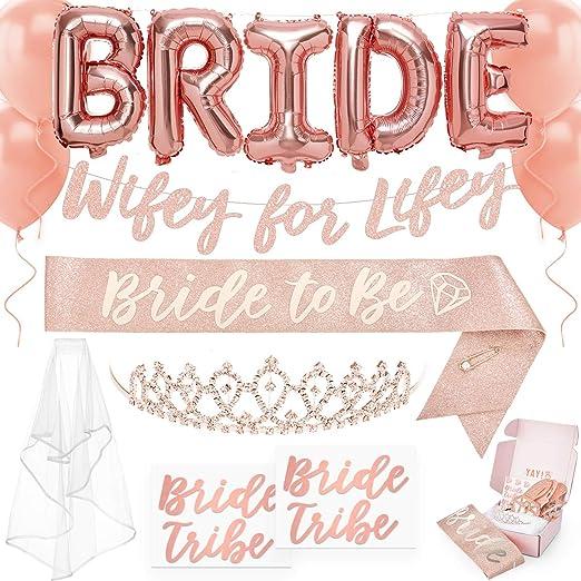 Bachelorette Party Letter Banner 8/' Bridal Shower Pink /& Purple Decoration Night