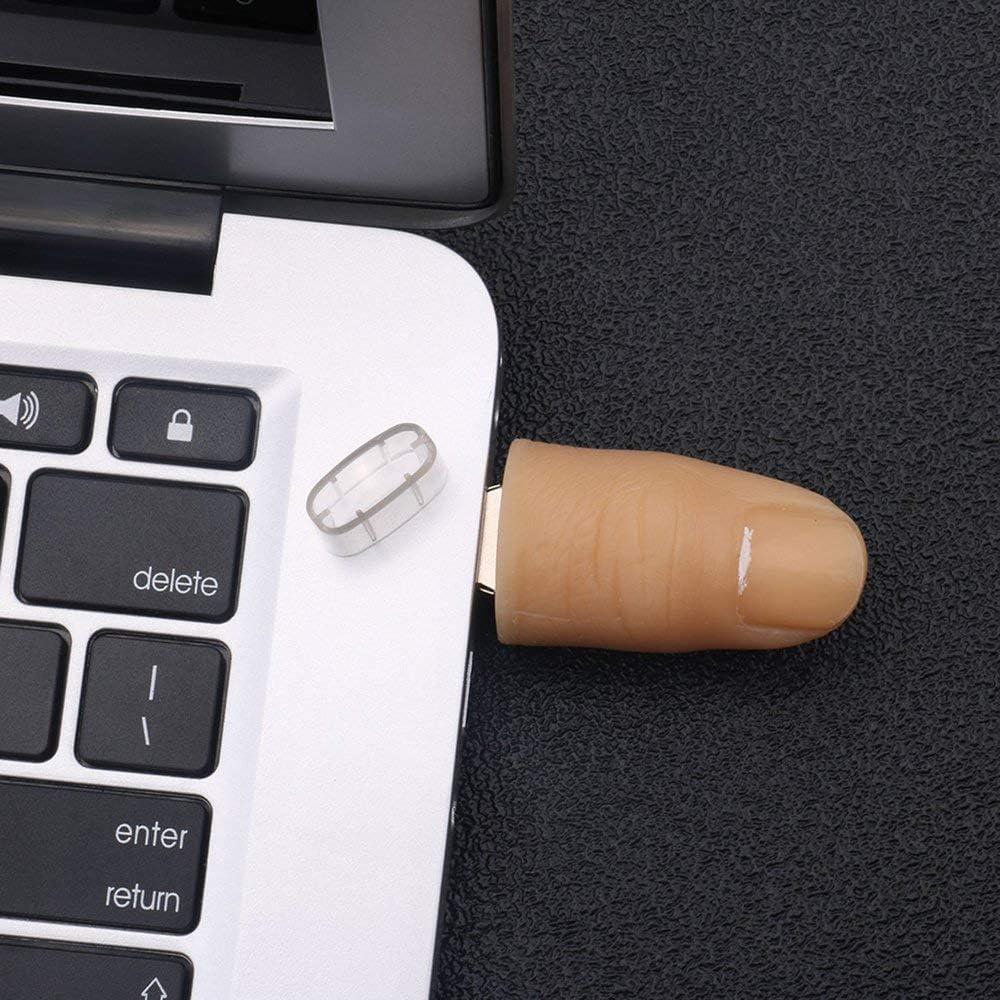 Mandalaa Creative Finger Shape USB Flash Drive USB2.0 Pen Drive Tricky Toy Mini Portable Flash Memory Stick for Laptop PC USB Flash Drive
