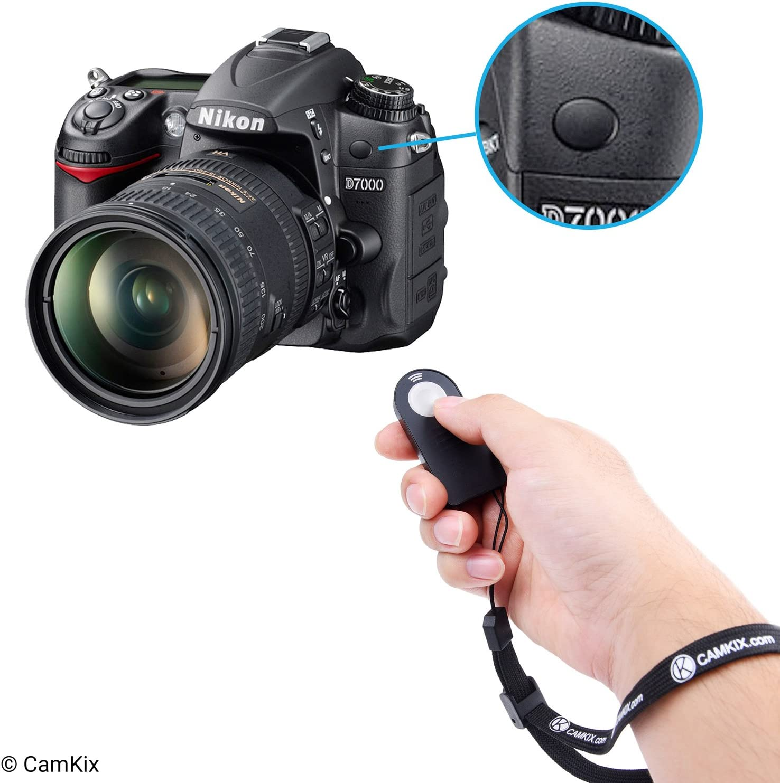 Control Remoto Inalambrico IR - Funciona con Muchas camaras Nikon ...