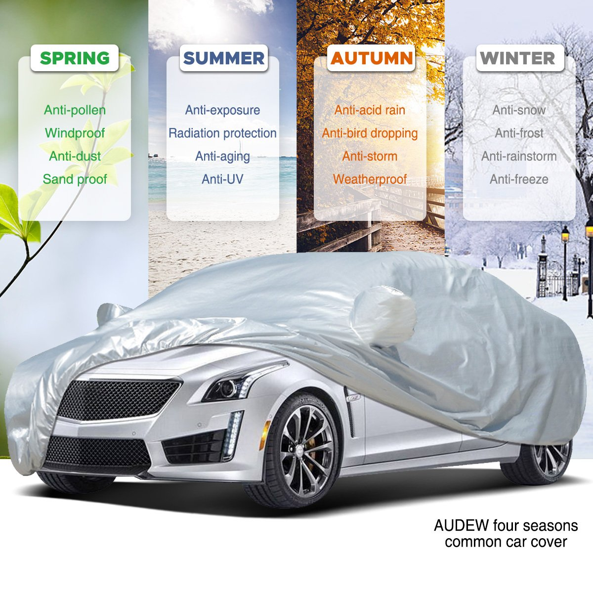 best car covers Audew Car Cover Sedan Cover