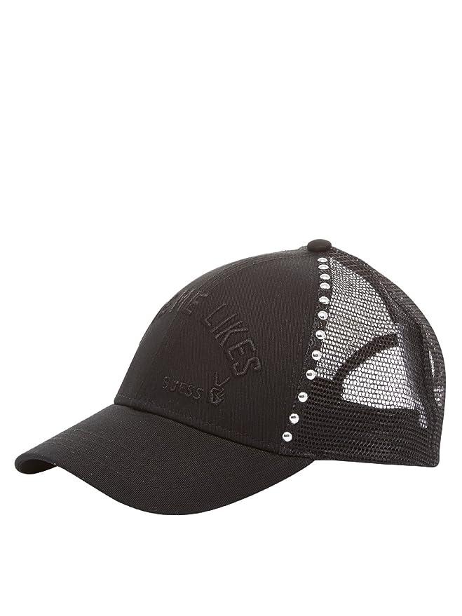 Guess - Gorra de béisbol - para mujer negro Talla única: Amazon.es ...