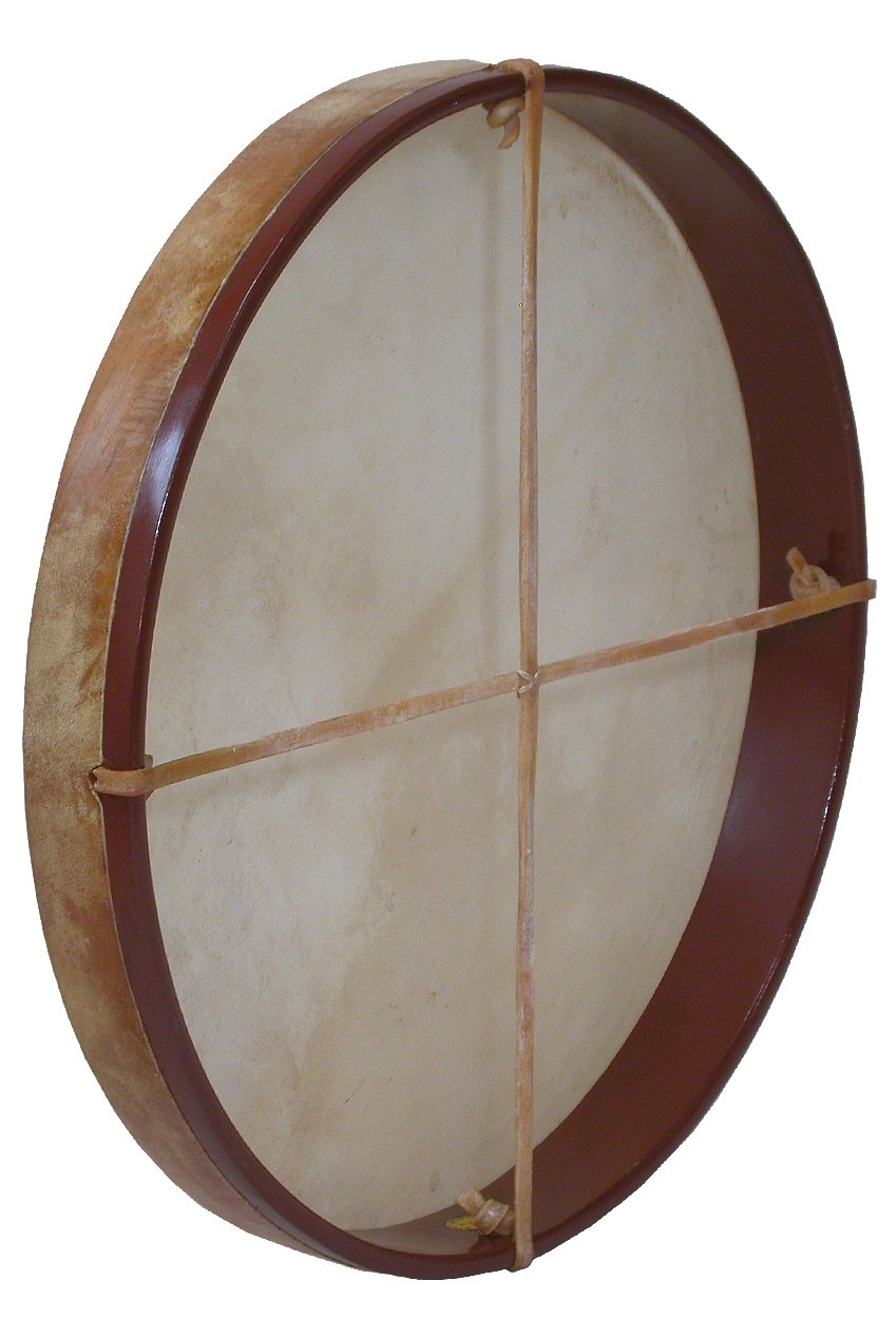 Mid-East FD18 18'' Frame Drum with Beater by Mid-East (Image #1)