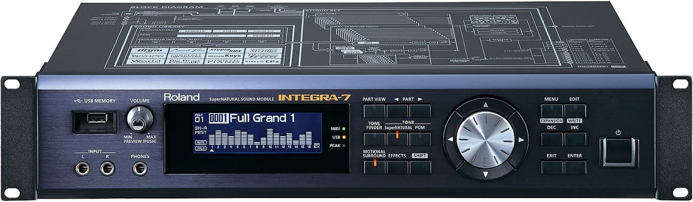 Roland integra-7   más de 6.000 sonidos Supernatural módulo ...