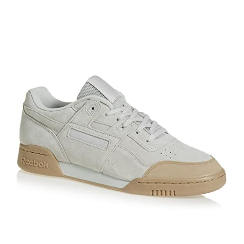 6f2ba59beb203 Reebok Men s Workout Plus Skk Shoes Skull Grey-Gum 12 UK  Buy Online ...
