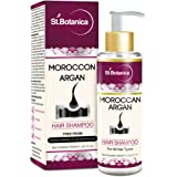 StBotanica Moroccan Argan Hair Shampoo 100ml - Free from SLS, Paraben (With Silk Protein & Oils)