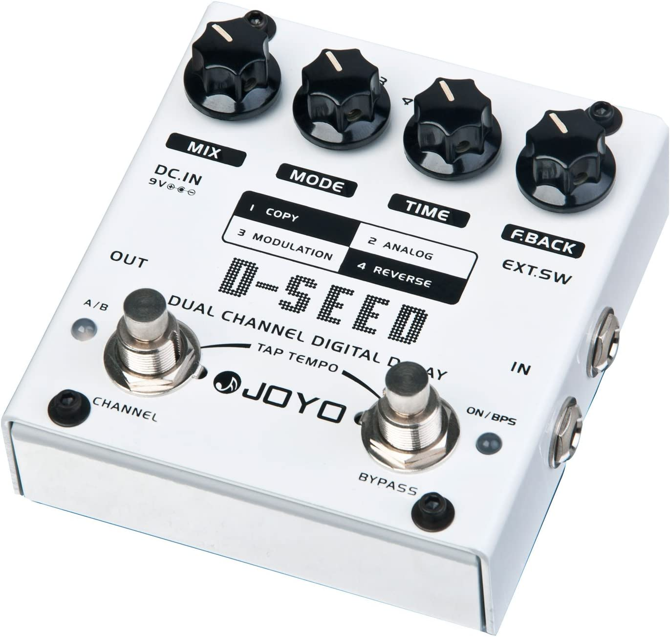 JOYO D-SEED Multi Pedal Dual Channel Digital Looper Pedal Multi-Effect