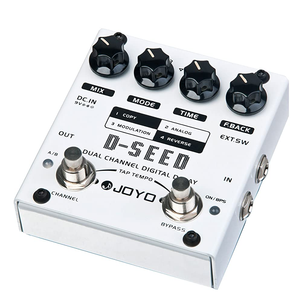A Review of the Joyo D Seed Delay Pedal – Update 2019