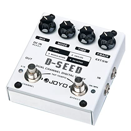 Top 4 Best Delay Pedals for Guitar Reviews in 2020 4