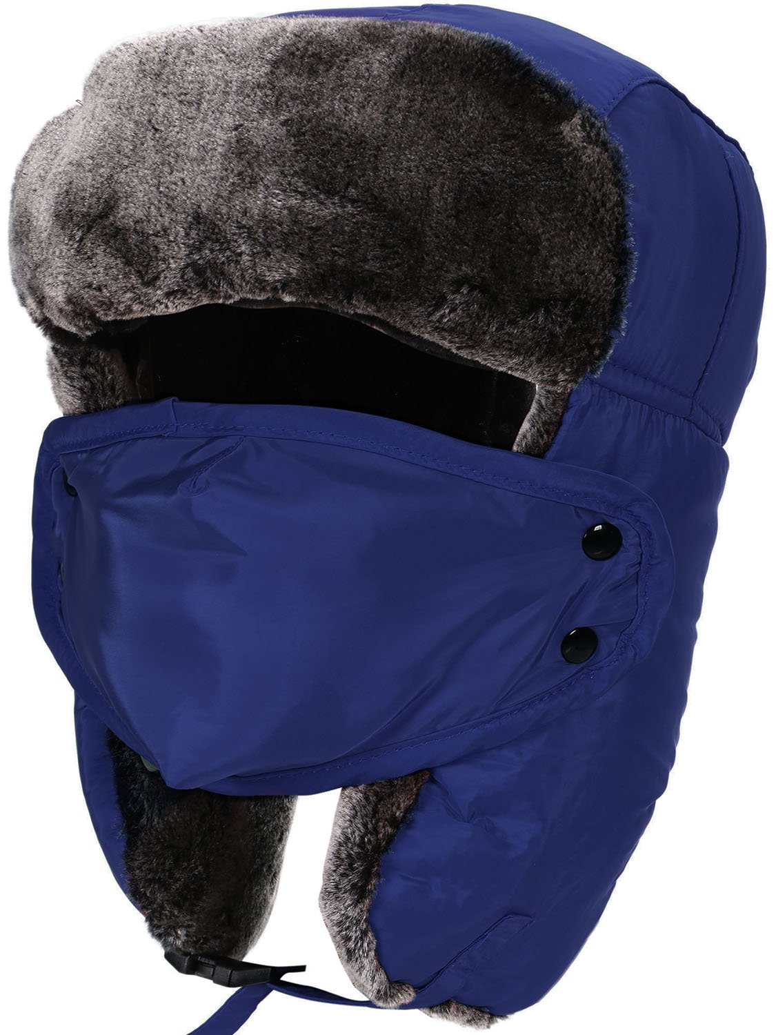 ee4a74c705d Verabella Winter Faux Fur Outdoor Trapper Cap Ushanka Russian Hats  Windproof Facemask product image