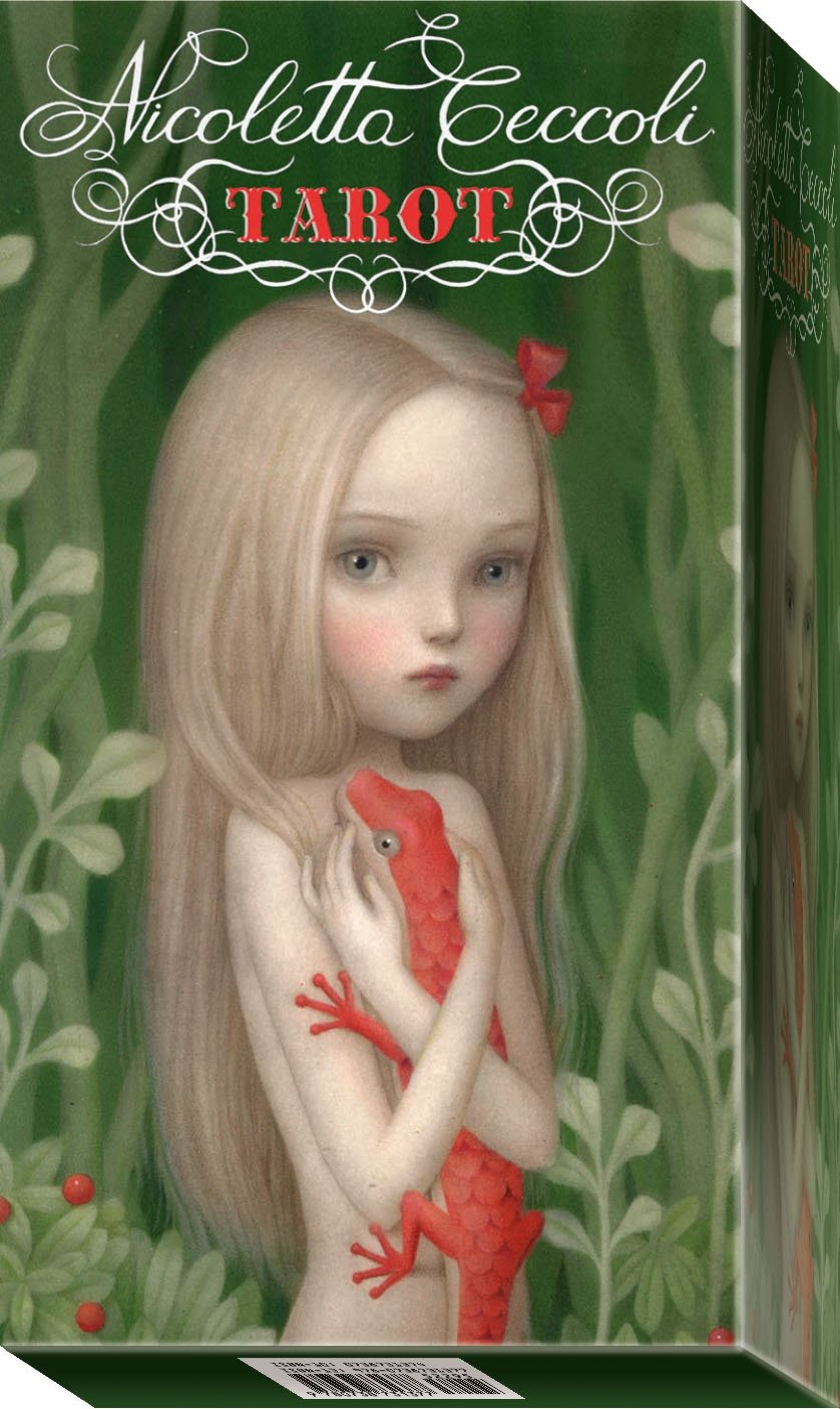 Nicoletta Ceccoli Tarot: 78 Full Colour Cards and Instructions Lo Scarabeo EX213 Mind Body & Spirit
