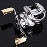 Sougayilang Magnetic Tuned Brake Low Profile Baitcasting Fishing Reel Left/right Hand