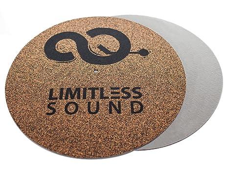 Placa Giratoria De Matte Record Mat Tocadiscos 2 knf de Grey ...