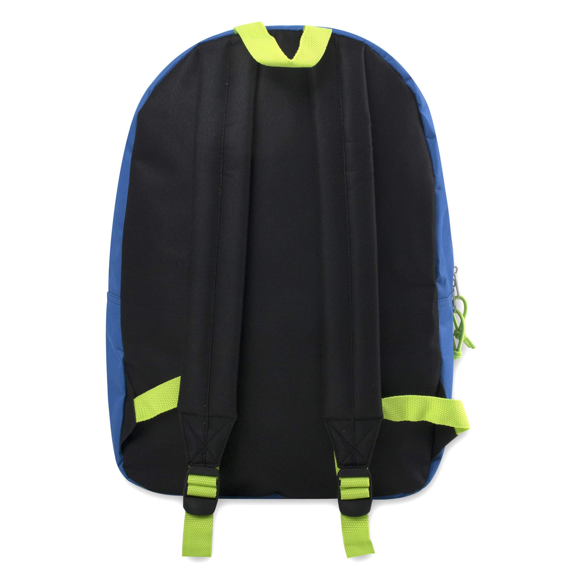 17'' Trailmaker Backpack Bookbag (Blue (01)) by Trail maker (Image #2)