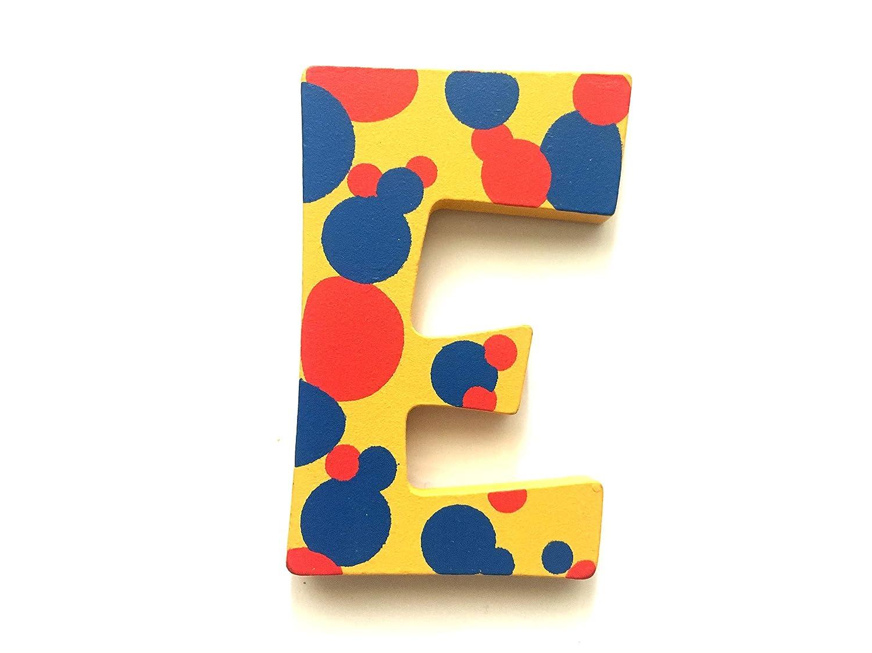 Wooden Girls Alphabet Letters Personalised Bedroom Wall Door Name E