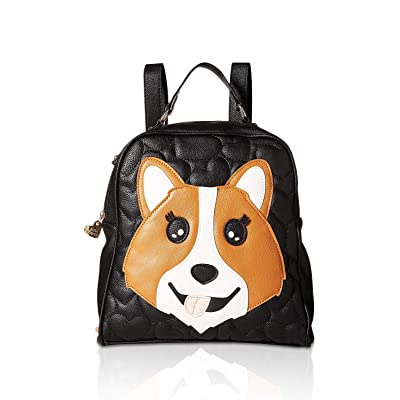 Betsey Johnson Kitch Backpack Black/Brown One Size | Kids' Backpacks