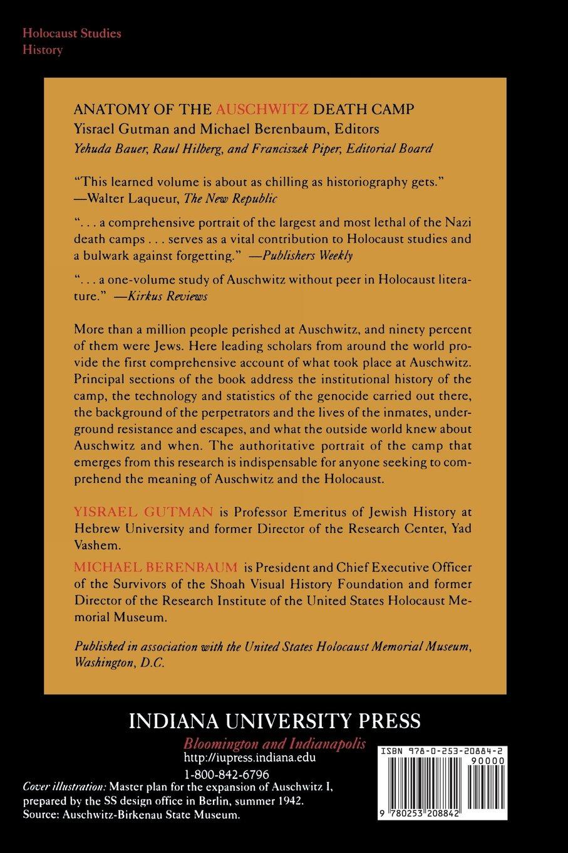 Anatomy of the Auschwitz Death Camp: Yisrael Gutman, Michael ...