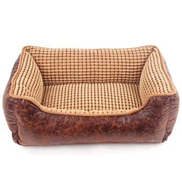 YMXLJF Suave Cama para Mascotas sofá 2 en 1 Nido del Animal doméstico Cachorro Saco de