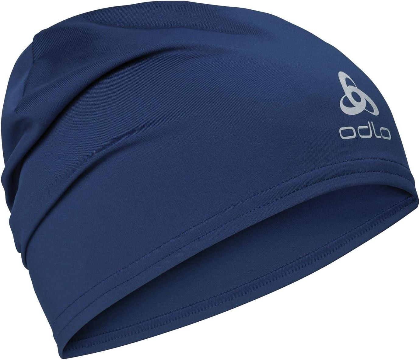 Beanie blau Funktionsmütze Odlo CERAMIWARM Reversible Mütze