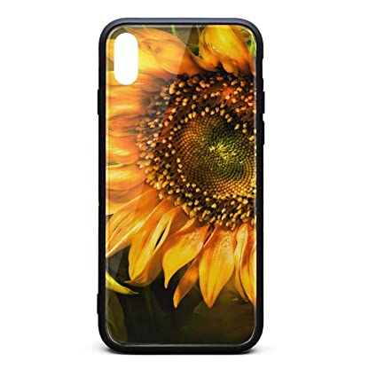 Amazon Com Dramatic Sunflower Wallpaper Cute Phone Case For