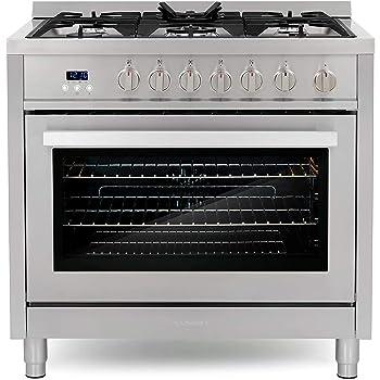 Cosmo 5 Sealed Burners 36-Inch Gas Range