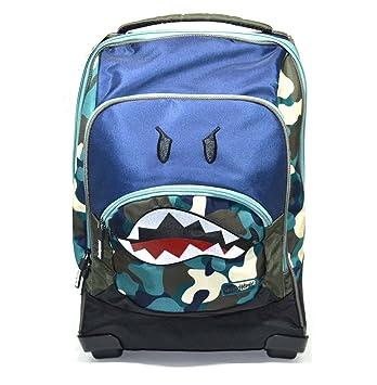 Smiley World Mochila con Ruedas organizada fantasía Color Azul y Camuflaje Oferta: Amazon.es: Oficina y papelería