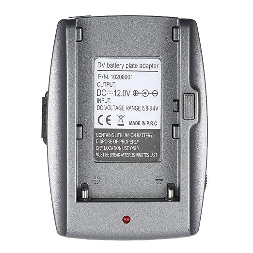 2 opinioni per Docooler Adattatore Batteria Piastra Base per BMPC BMCC BMPCC per Sony NP-F970
