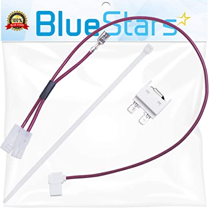 675813 Dishwasher Thermal Fuse Replacement Part by Blue Stars - Exact Fit  for Whirlpool Kenmore Maytag Dishwasher - Replaces 3375557 3376359 675813