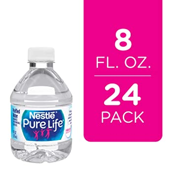 Amazon.com: Nestle Pure Vida Agua Purificada, 8 onzas ...