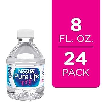 Amazon.com: Nestle Pure Vida Agua Purificada, 8 onzas ...