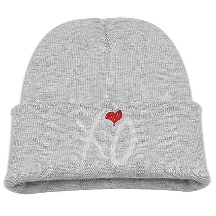 Babala XO The Weeknd Children Knitted Beanie Cap Hat Knit Skully Hat Ash f8dbdb307d8b