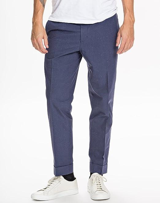 diversamente 177a9 45f3c Filippa K M.Terry Cotton Silk Pantaloni uomo: Amazon.it ...