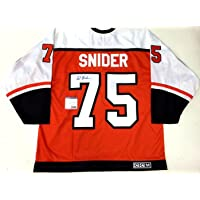 Ed Snider Autographed Jersey - Ccm Vintage Coa Ab22987 - PSA/DNA Certified - 5 photo