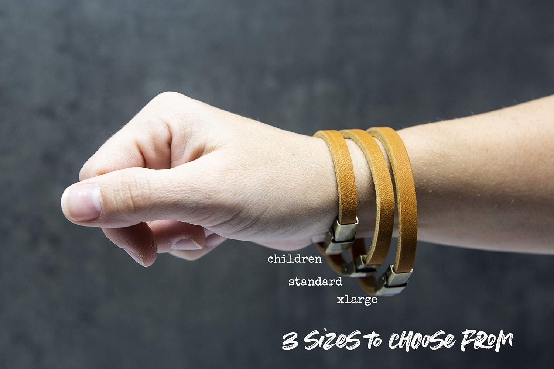 2 Timothy 4:17 Leather Bracelet
