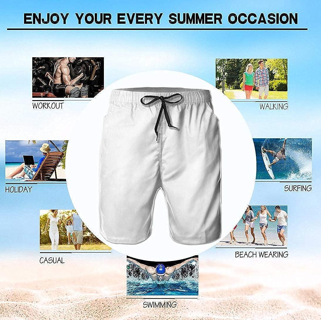 Trikahan Metallic Silver StarsMens Fast DrTrikahan Short Swimming Pant Pants Beach Pants