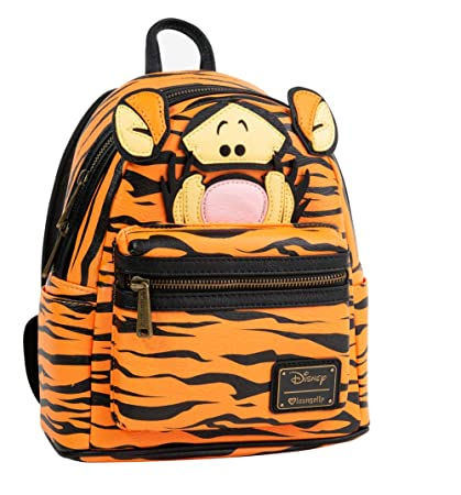 212bd5241d5 Loungefly x Disney Tigger Mini Backpack  Amazon.co.uk  Luggage