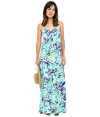 Lilly pultizer full sleeve maxi dress
