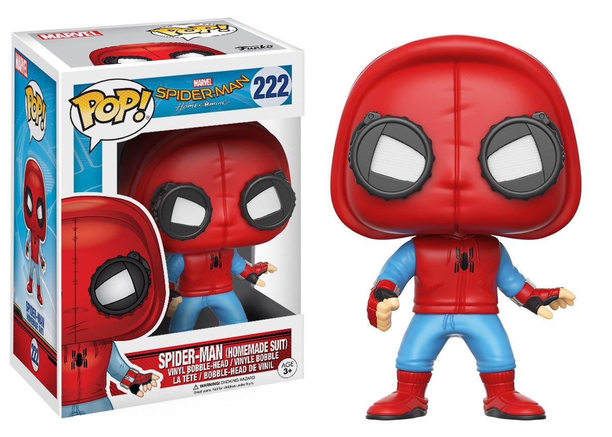 Funko Pop! Marvel - Spider man: De regreso a casa, El hombre araña con capucha