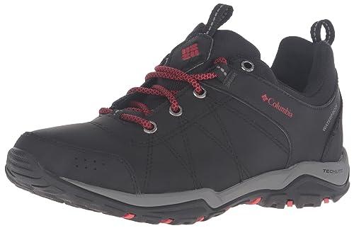 Fire Venture Low Waterproof, Zapatillas de Deporte Exterior para Mujer, Negro (Black, Burnt Henna 010Black, Burnt Henna 010), 37.5 EU Columbia