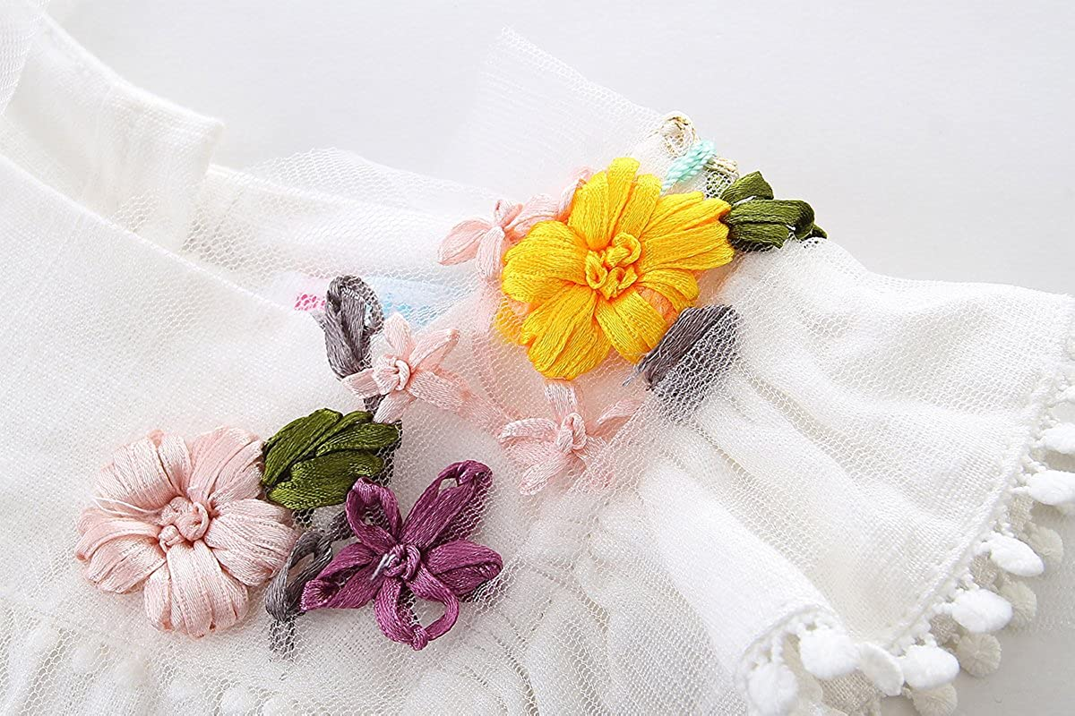 Mud Kingdom Vivid Flowers Girls Butterfly Sleeve Tops and Shorts Outfits
