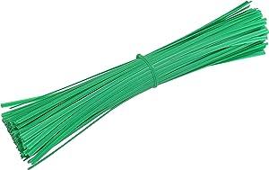 """Gardzen 300 pcs 12"""" Multi-Function Garden Plant Twist Tie Cable Tie/Zip Tie/Coated Wire"""