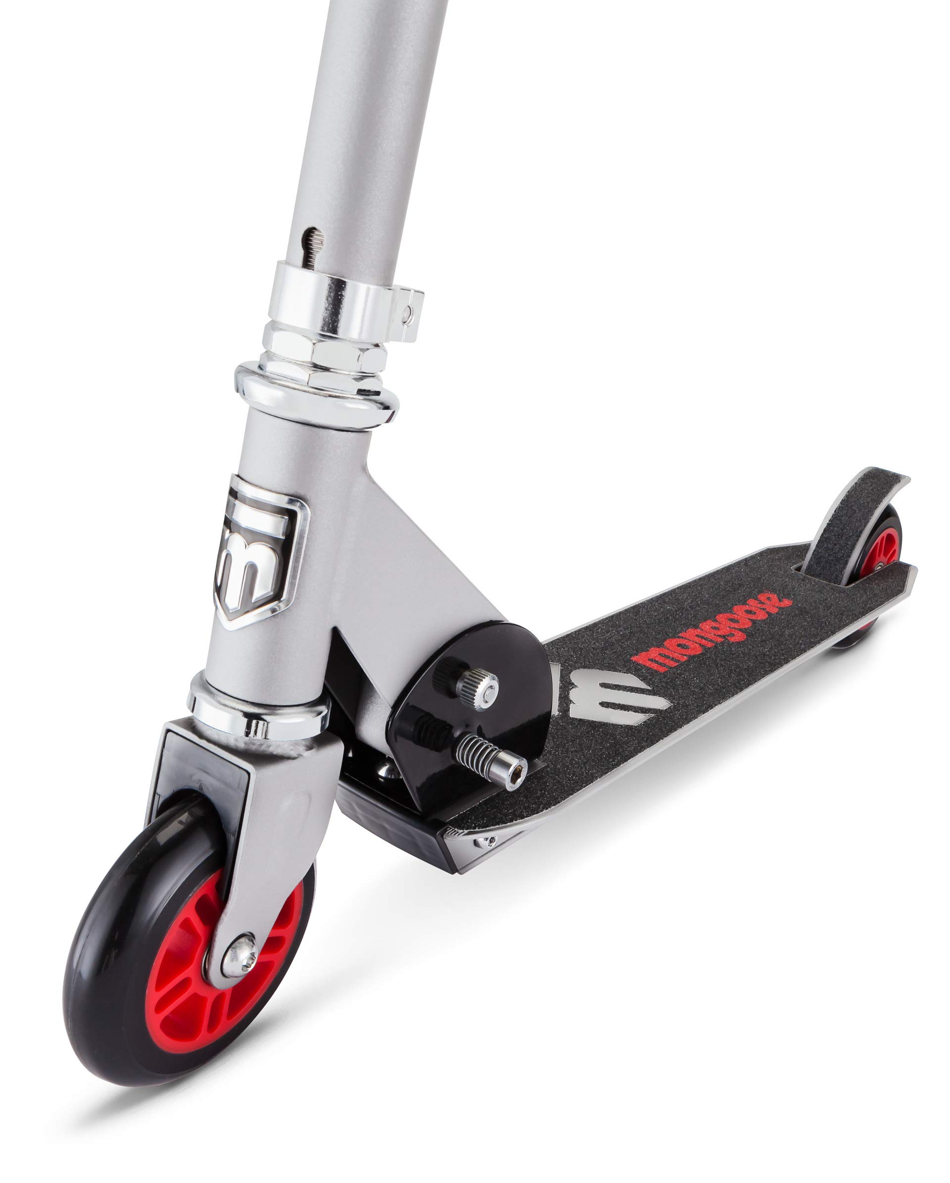 Mongoose Force 1.0 Scooter - Gray/Red Silver/Red by Mongoose