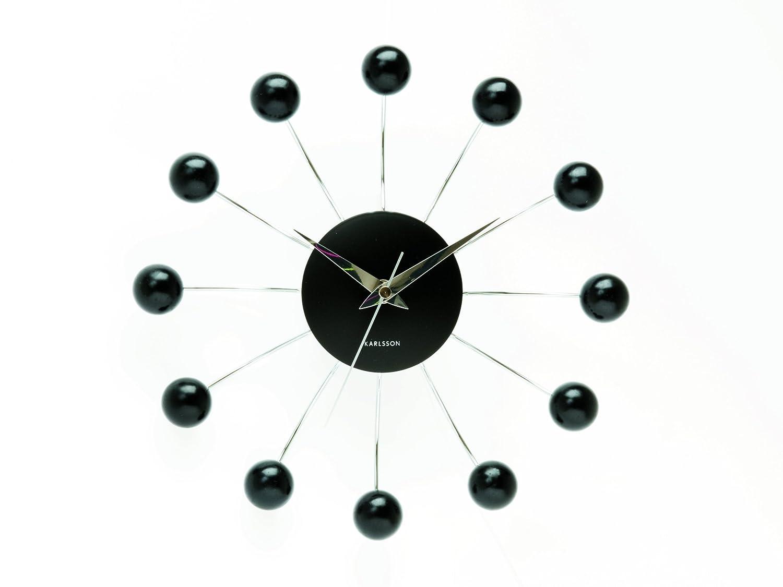 Karlsson wall clock spider black amazon kitchen home amipublicfo Images
