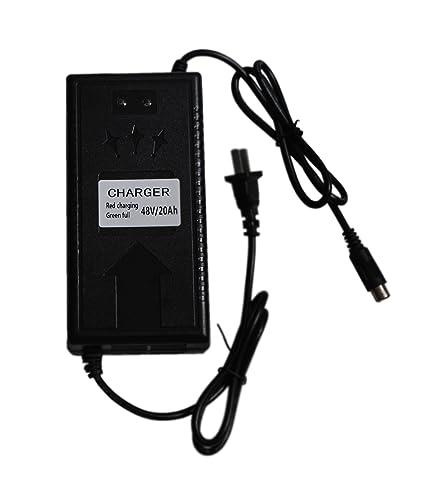 Amazon.com: sican 48 V Cargador de batería de ácido de plomo ...