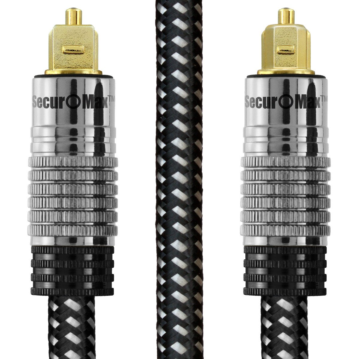 Best Rated In Fiber Optic Cables Helpful Customer Reviews Cablethe Global Solution Components Securomax Digital Optical Audio Cable Toslink S Pdif Adat Eiaj